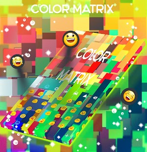 Color Matrix Keyboard - screenshot