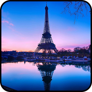 Romantic Paris Wallpaper