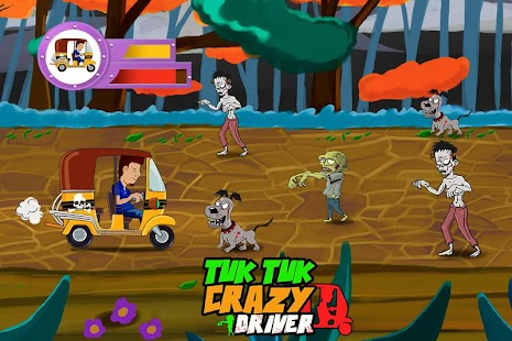 Tuk Tuk Crazy Driver - screenshot