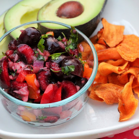 Paleo Cherry Salsa (with canning option)