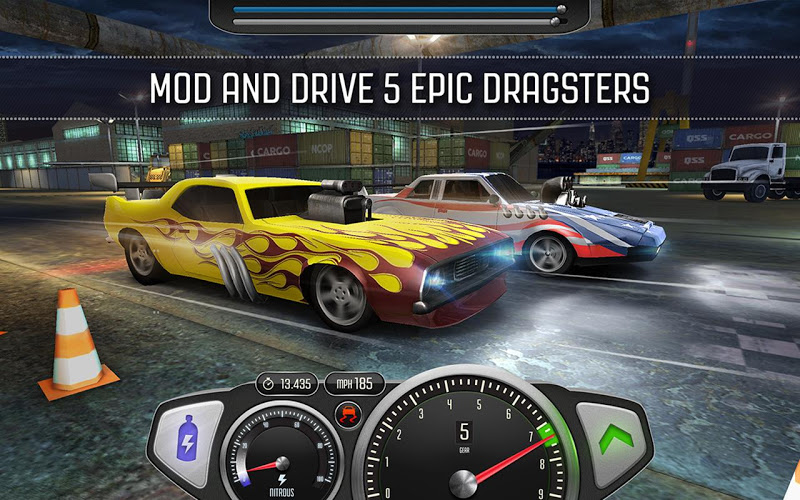 Top Speed: Drag & Fast Racing Android App Screenshot