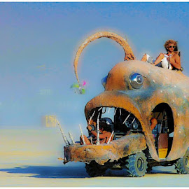 Oh the places you will go by Costa Panagopoulos - Transportation Automobiles ( artcar, desert, playa, festival, burningman )