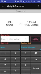 Kitchen Calculator (Converter)- screenshot thumbnail