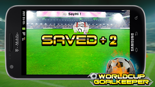 Goal Keeper World Cup 2014 screenshot 3