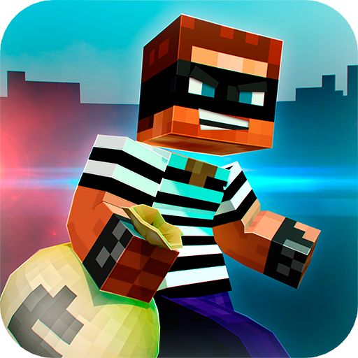 🚔 Robber Race Escape 🚔 Police Car Chase Runner (game)