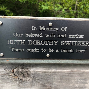 In Memory Of Our beloved wife and mother RUTH DOROTHY SWITZER