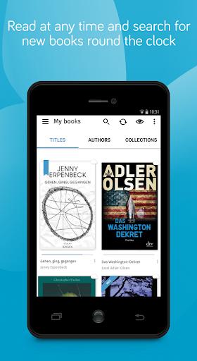 tolino e-book reading app - books reader screenshot 2