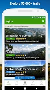 App AllTrails - Hiking, Trail Running & Biking Trails APK for Windows Phone