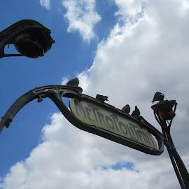 When in PAris by Nick Pirie - City,  Street & Park  Street Scenes