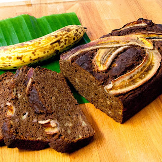 Nut Free Chocolate Banana Bread (Paleo, Grain free & Gluten free)