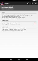 Screenshot of NL Train Navigator