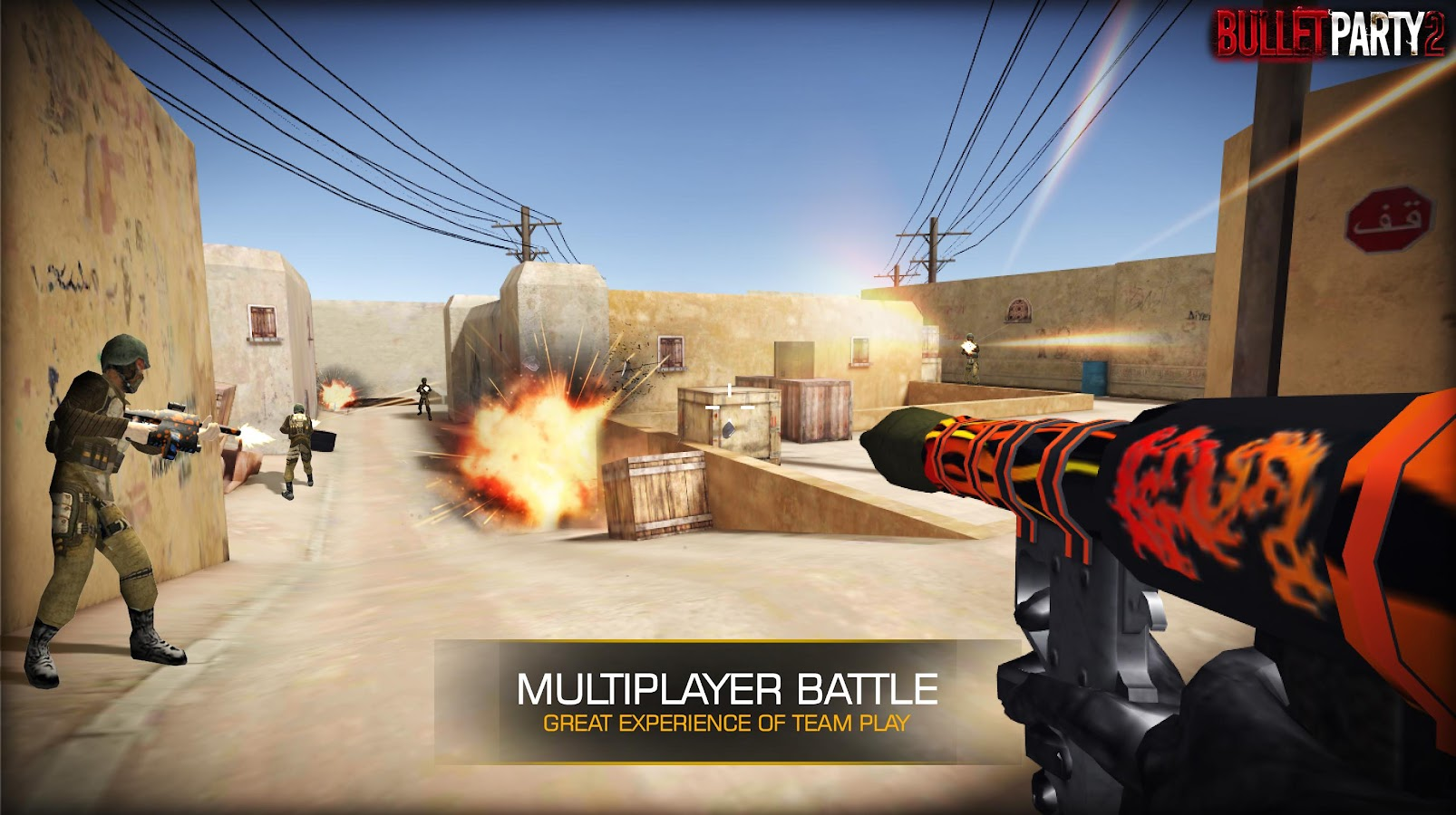 Bullet Party CS 2 : GO STRIKE Screenshot 1