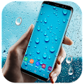 Running Waterdrops Live Wallpaper APK for Ubuntu