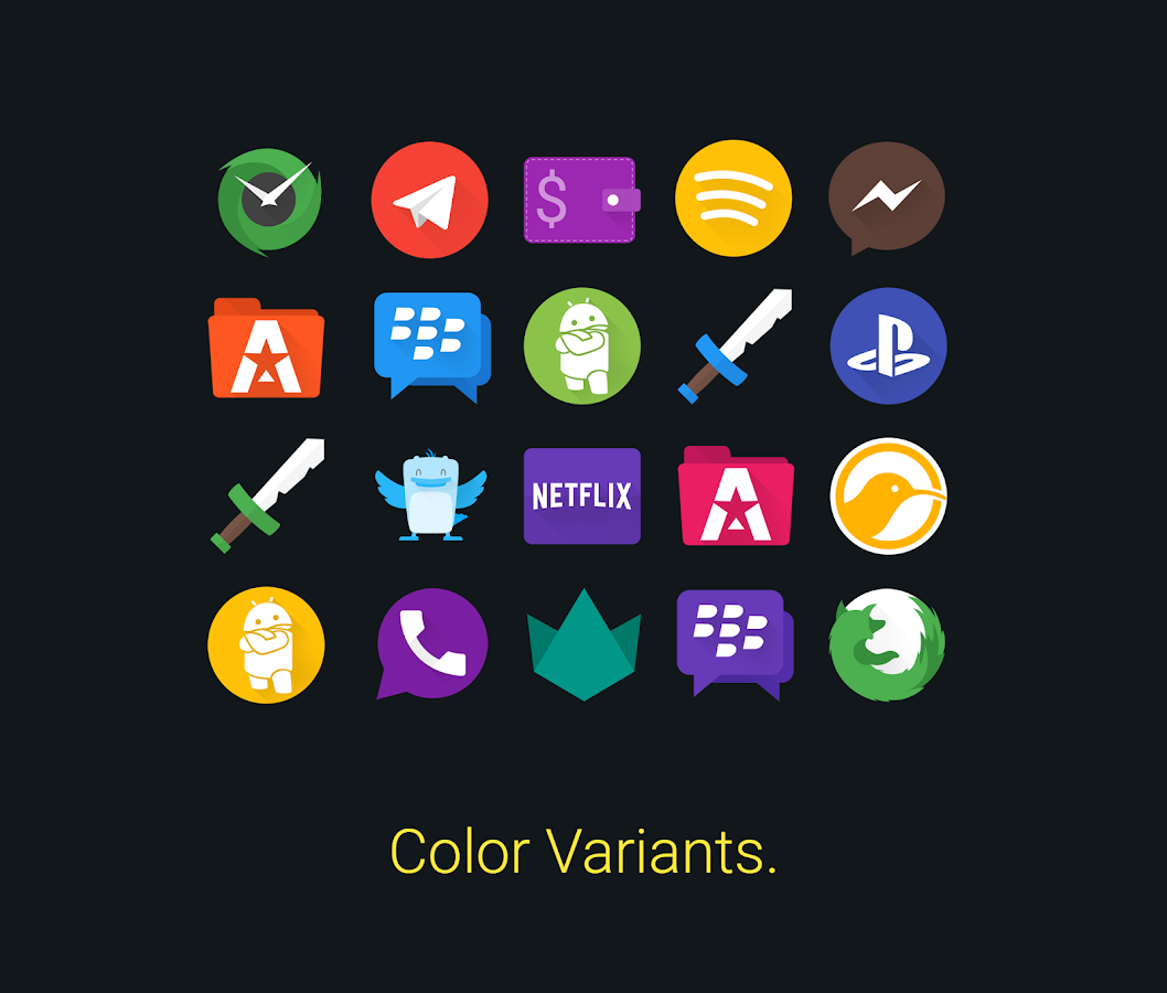Glim - Icon Pack Screenshot 5