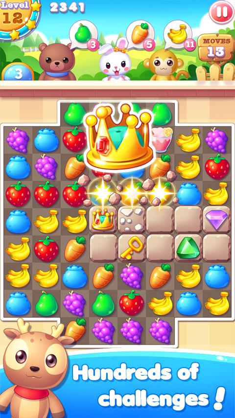 Fruit Bunny Mania Screenshot 3