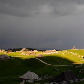 Amazing Shadows by Daniel Mlakar - Landscapes Weather ( pwcsummer )