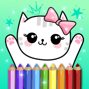 Coloring Pages Kids Games with Animation Effects For PC / Windows 7/8/10 / Mac – Free Download