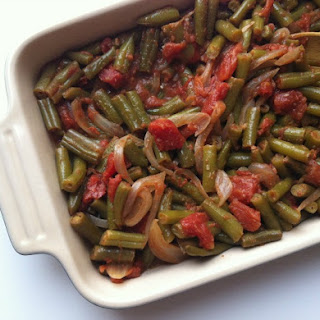 Lebanese Green Beans Tomatoes Recipes