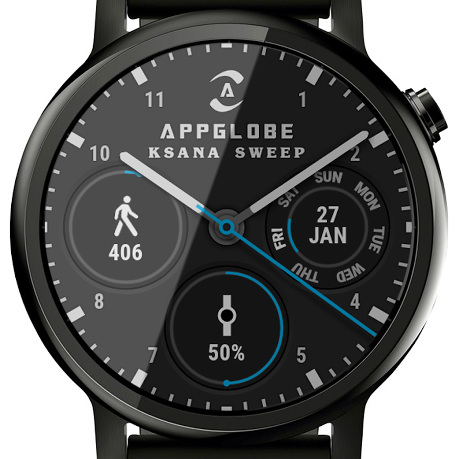 ? Ksana Sweep Watch Face for Android Wear Screenshot 9