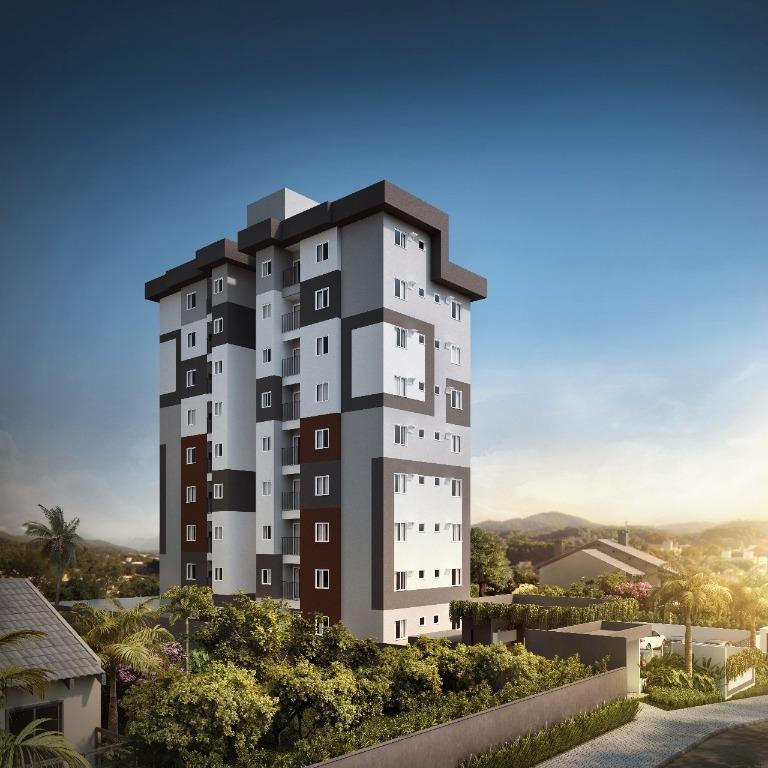Apartamento com 2 dormitórios à venda, 48 m² por R$ 167.700 - Costa e Silva - Joinville/SC