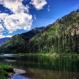 Wenatchee River  by Todd Reynolds - Landscapes Travel