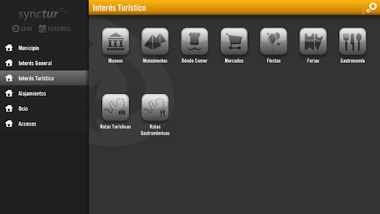 Synctur for Tablets - screenshot