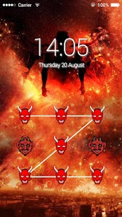 AppLock Theme Devil - screenshot