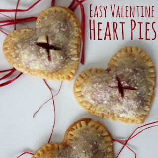 Easy Valentine Heart Pies