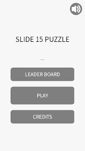 SLIDE 15 PUZZLE - screenshot