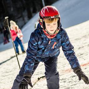 Snowboarding by Alexandru Bogdan Grigore - Babies & Children Hands & Feet ( child, mountain, winter, happy, snow, snowday, sun )