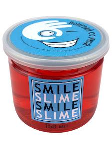 Слайм-лизун Красное стекло, 150 мл.