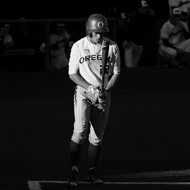 Tight Light by Justin Quinn - Sports & Fitness Baseball ( oregon, ncaa, baseball, ducks, college )