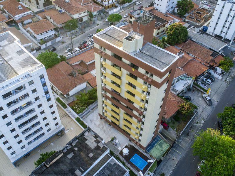 Apartamento com 2 dormitórios para alugar, 54 m² por R$ 1.250/mês - Manaíra - João Pessoa/PB
