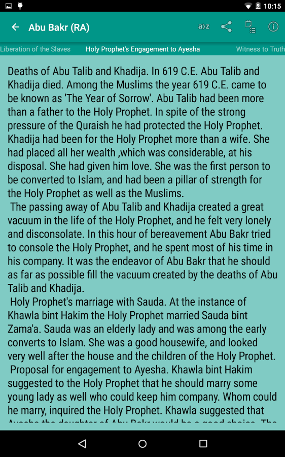 Stories of Sahaba Screenshot 11