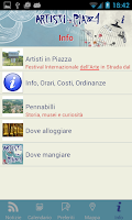 Screenshot of Artisti in Piazza 2015