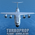Game Turboprop Flight Simulator 3D APK for Kindle