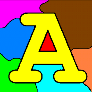 Coloring for Kids - ABC Icon