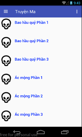 truyen ma offline 18+ Screenshot