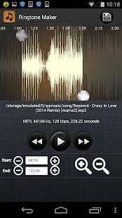 Ringtone Maker - MP3 Cutter APK for Ubuntu