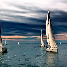 sailing, I am sailing by Bernarda Bizjak - Sports & Fitness Watersports