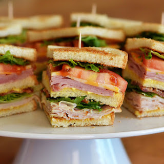 Turkey Ham Club Sandwich Recipes