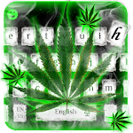 Weed Rasta Smoke Keyboard Icon