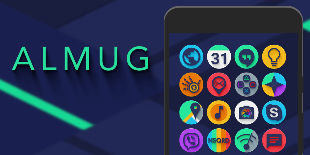 Almug - Icon Pack Screenshot 8