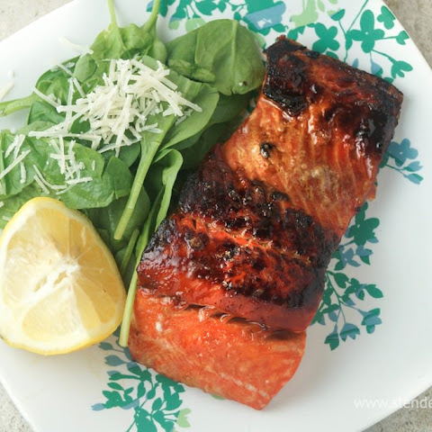 Quick and Easy Spicy Salmon