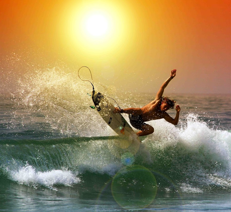 Sunset Swing II by Alit  Apriyana - Sports & Fitness Surfing