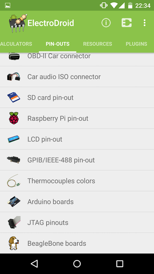 ElectroDroid Pro Screenshot 4
