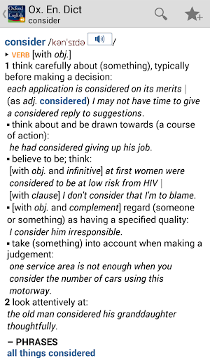 OfficeSuite Oxford Dictionary screenshot 3