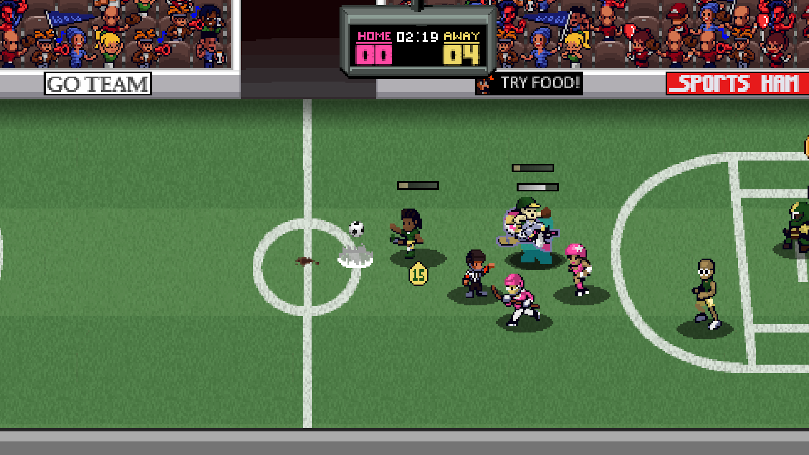 Super Slam Dunk Touchdown Screenshot 5