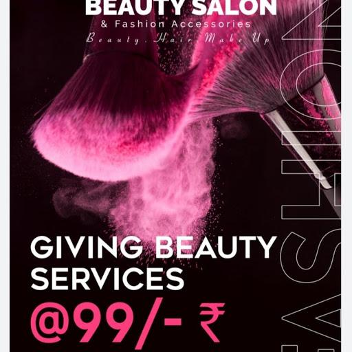 Make Over Beauty Salon & Fashion Accessories, Madangir, Madangir logo