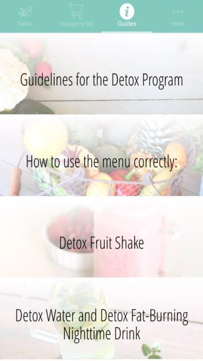 Detox vegetarian 10 days Screenshot 4